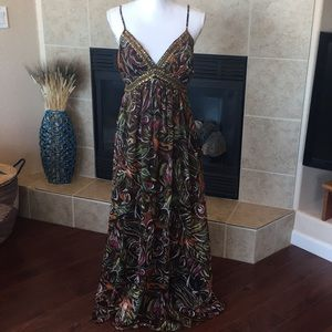 Chelsea and Theodore Maxi Dress Size 10